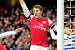 Ramsey Delighted with Recent Arsenal Form