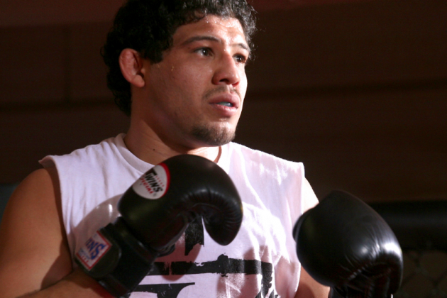 UFC on Fox 7 Gilbert Melendez's Boxing: Far from Perfect