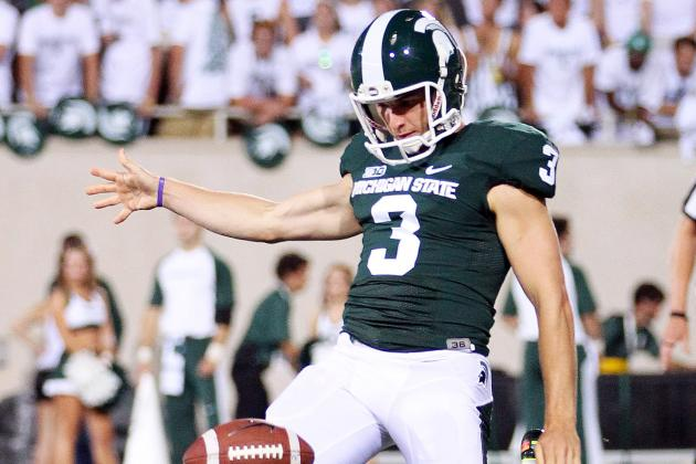 All-Big Ten Punter Mike Sadler Could Add Place-Kicking Duties This Fall