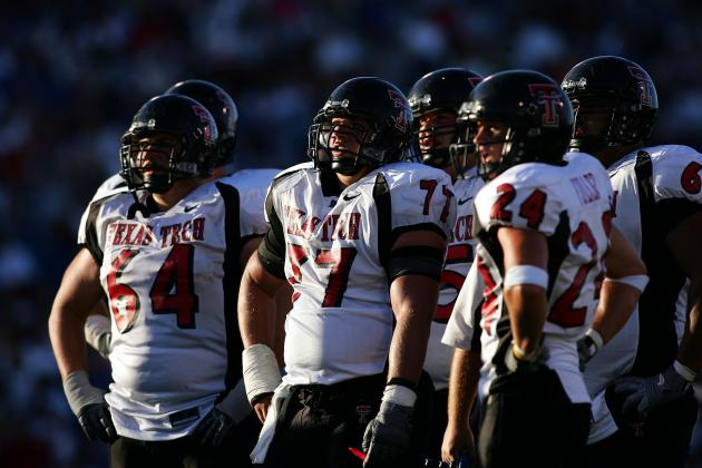 Hard Work Paying off for Red Raiders Offensive Line