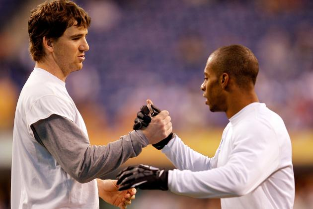 Eli Manning Doesn't Expect to See Victor Cruz Until Long-Term Deal Done