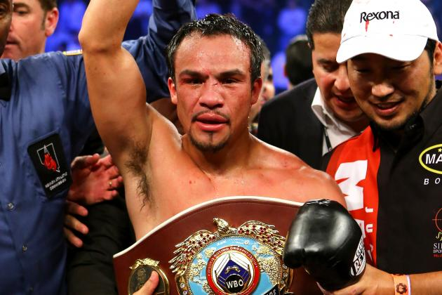 Juan Manuel Marquez to Reportedly Face Timothy Bradley