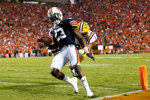 Onterio McCalebb Scouting Report: NFL Outlook for Auburn WR