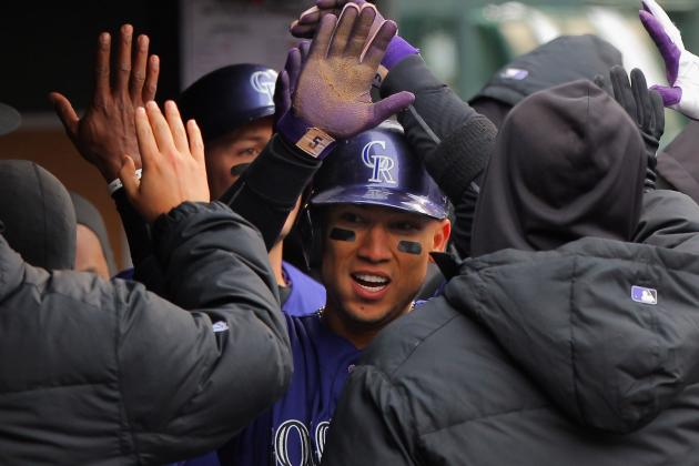 Rockies' Carlos Gonzalez on a Tear Despite Early Cold Weather