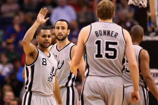 San Antonio Spurs Playoff Schedule: TV Info and Predictions for First Round