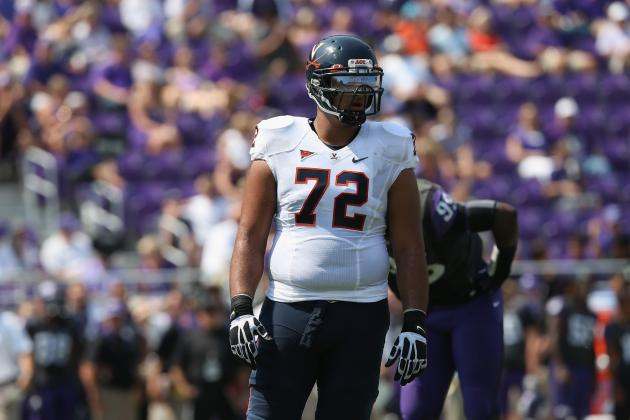 Offensive Lineman Could Extend U.Va.s Draft Streak
