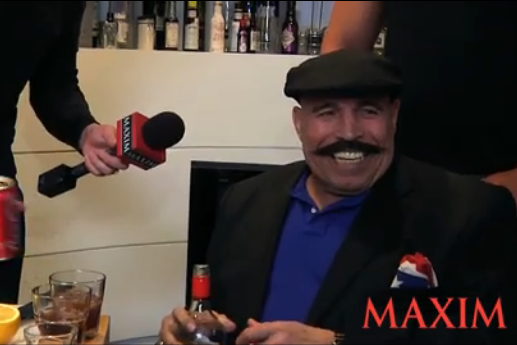 The Iron Sheik Lays the Smackdown on Maxim