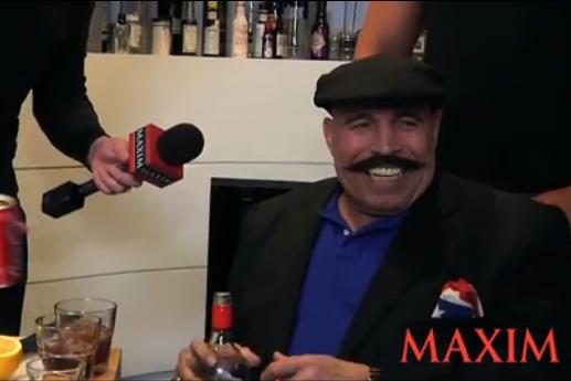 The Iron Sheik Lays the Smackdown on Maxim