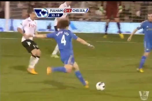 Luiz Scores on 35-Yard Screamer