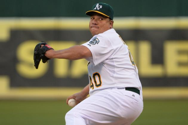 Bartolo Colon Still Looks Good for Oakland A's Following His 50-Game Suspension