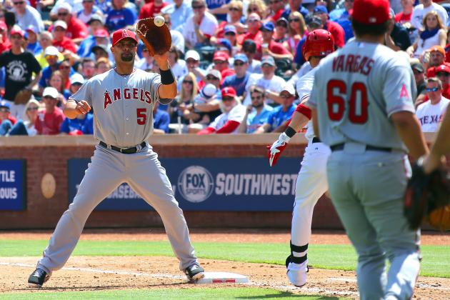 How Much Longer Can Albert Pujols Play First Base?