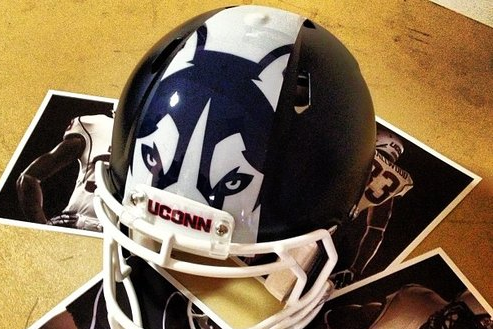 UConn Unveils Interesting New Helmets
