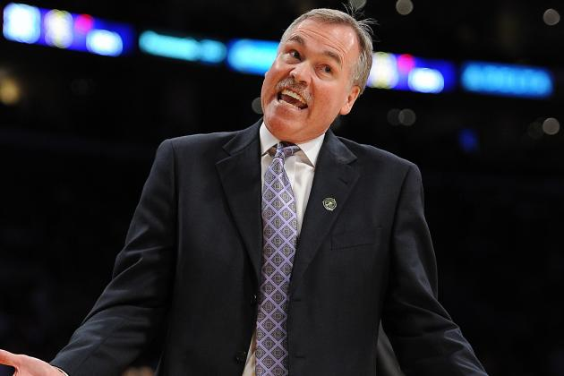 Mike D'Antoni Named Western Coach of the Month