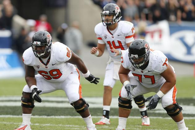 Beavers' Offensive Line Steps Up
