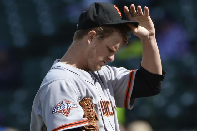 Is It Too Early to Worry about San Francisco Giants Ace Matt Cain?