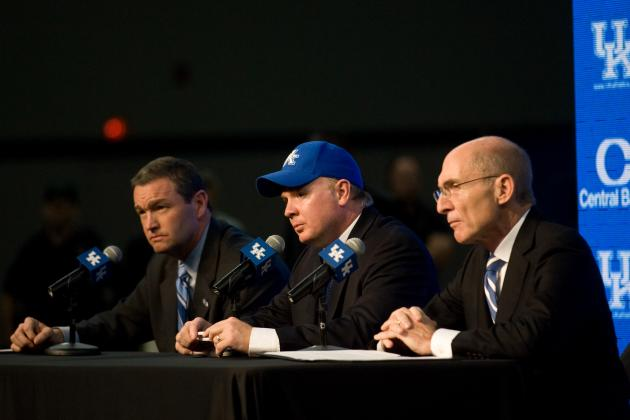 Video: Mark Stoops and Kentucky Wildcats