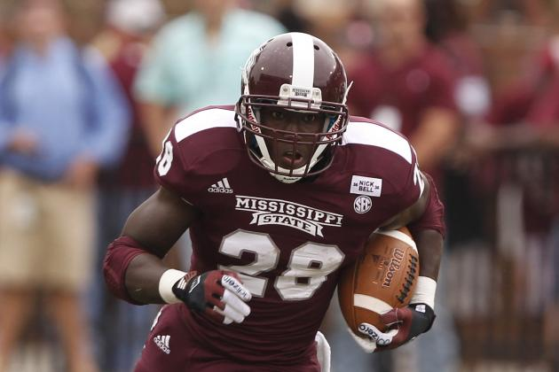Mississippi State Grinds out Touchdowns in Red Zone