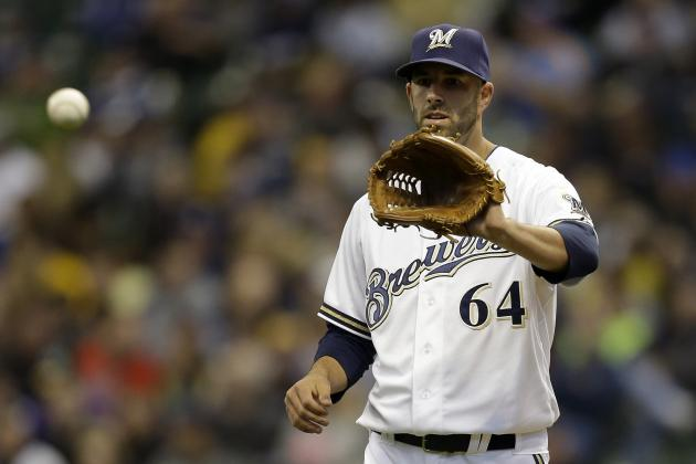 Brewers Demote Mike Fiers to Triple-A