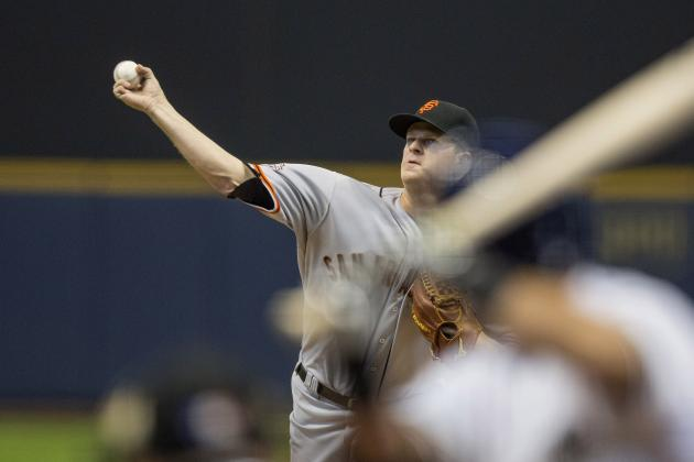 Another SF Giants Starter Hammered; Brewers Sweep
