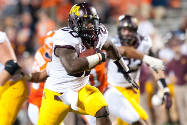 Gophers' Offense Hits the Ground Running