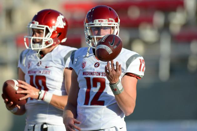 Leach Quiet, but Connor Halliday May Be Pulling Away in QB Competition