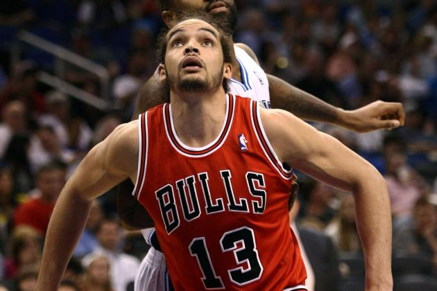 Noah's Still Hurting Foot Could Be Key to Bulls/Nets