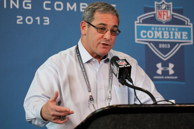Gettleman: Panthers Seeking 'big Hog Mollies' in NFL Draft