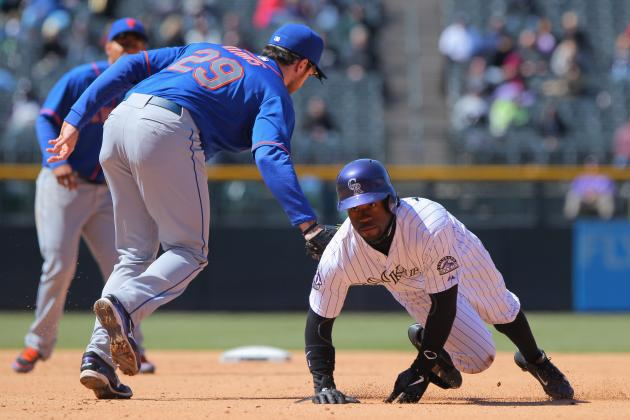 Garland Fights Chill to Lead Rockies by Mets