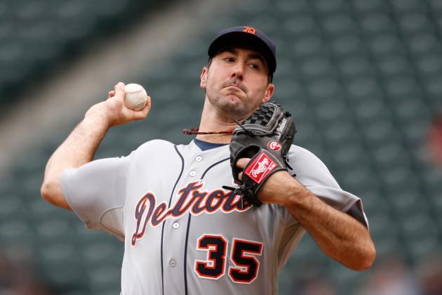 Verlander Ks 12; Tigers' Four-Game Winning Streak Ends with Shutout Loss