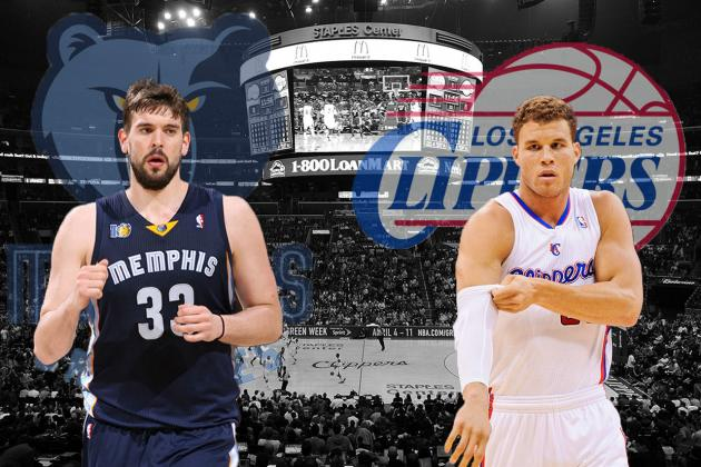 Memphis Grizzlies vs. LA Clippers: Western Conference Round 1 Preview