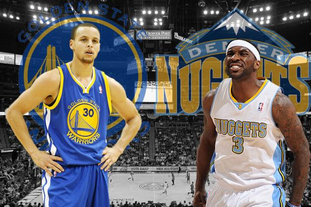 Golden State Warriors vs. Denver Nuggets: Western Conference Round 1 Preview