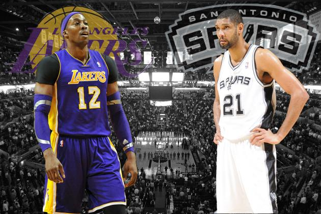 LA Lakers vs. San Antonio Spurs: Western Conference Round 1 Preview