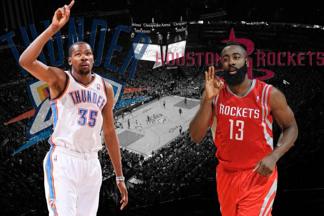Houston Rockets vs. OKC Thunder: Western Conference Round 1 Preview