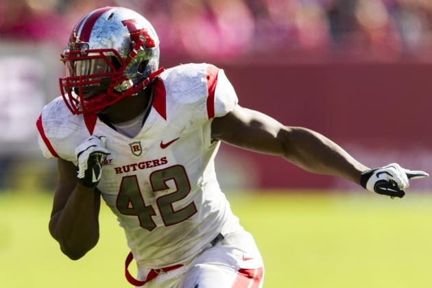 Steve Beauharnais Scouting Report: NFL Outlook for Rutgers LB