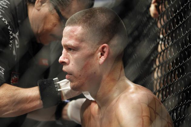 Nate Diaz Returning to Welterweight After UFC on Fox Fight with Josh Thomson
