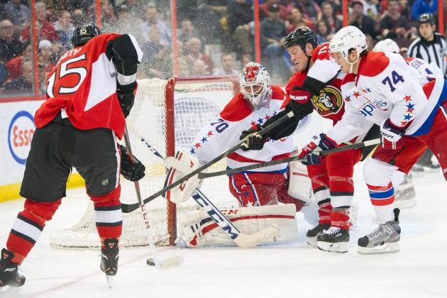 Senators Snap Caps' 8-Game Winning Streak