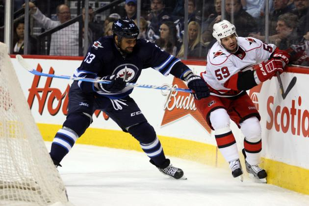 Byfuglien's OT Goal Lifts Jets to 5th Straight Win