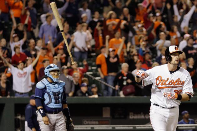 Orioles Grand Slam Ends Rays' Rough Road Trip