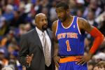 Knicks' Coach Woodson Thinks Amar'e Will Miss Celtics Series