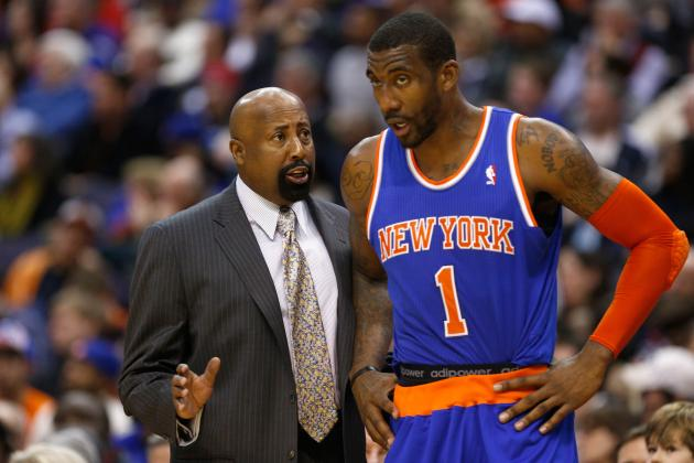 Coach Thinks Amar'e Will Miss Celtics Series
