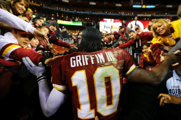 Why Robert Griffin III Attracts NFL Viewers Like Tiger Woods Does for the PGA