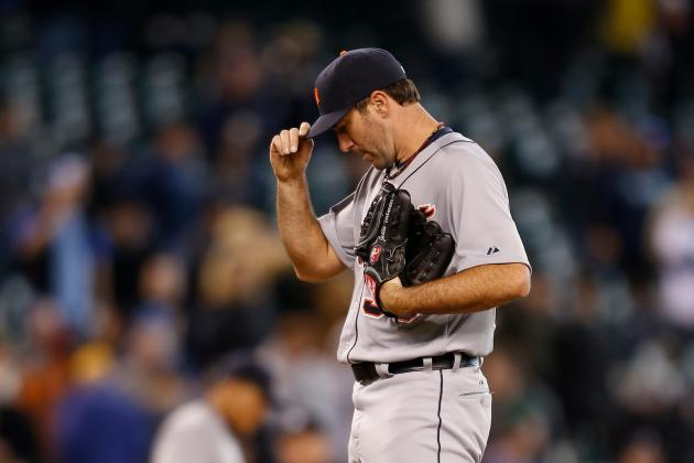 Verlander Strikes out 12 Mariners, but Tigers Lose