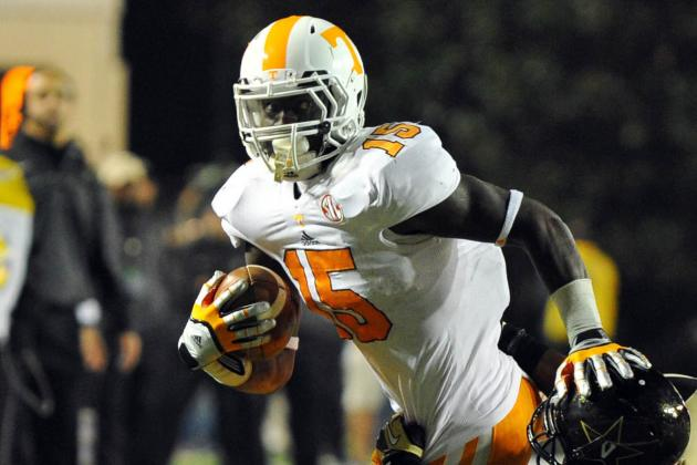 Lane's Uncertain Status Leaves Vols Thin at RB