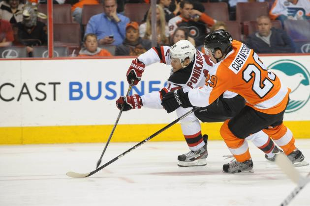 Flyers' Playoff Chances Almost Gone After 3-0 Loss to Devils