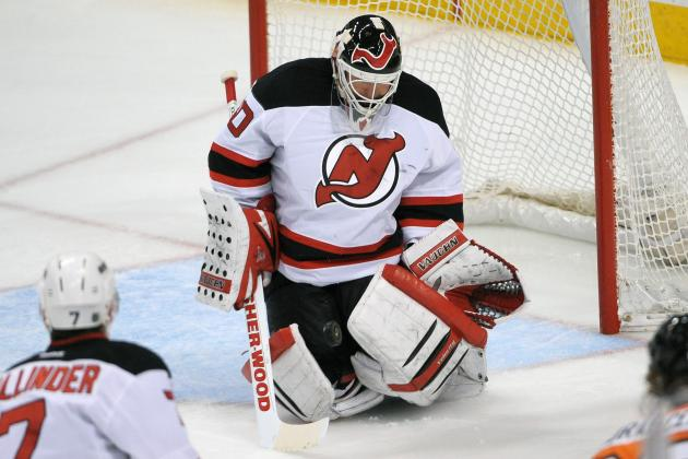 Brodeur, Devils Down Flyers to End 10-Game Losing Skid