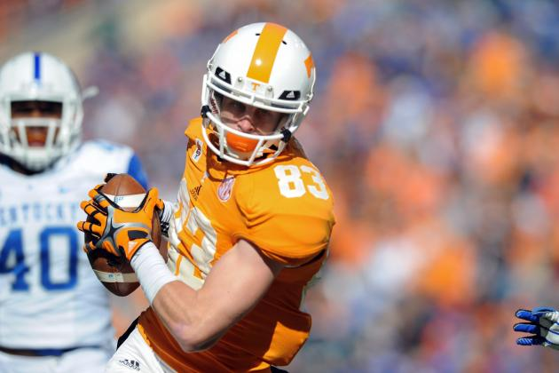 Zach Rogers Scouting Report: NFL Outlook for Tennessee WR
