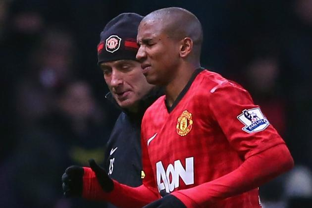 Ashley Young Ruled out for Season