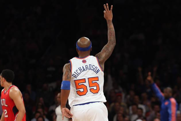 Knicks Sign Veteran Quentin Richardson for Playoff Run