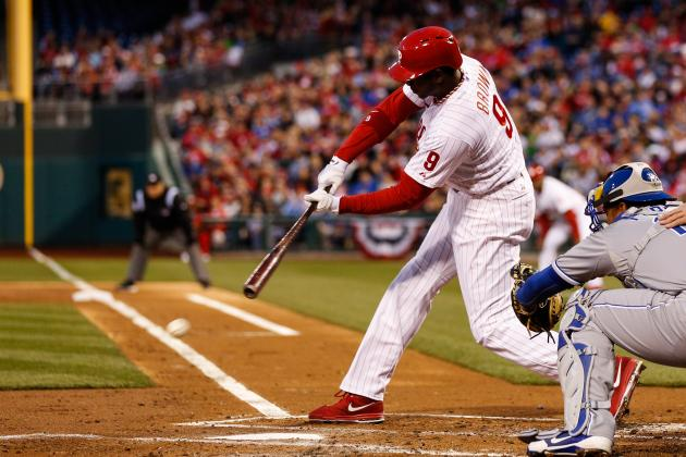 Brown 'A Lot Better' but Sits in Favor of Galvis