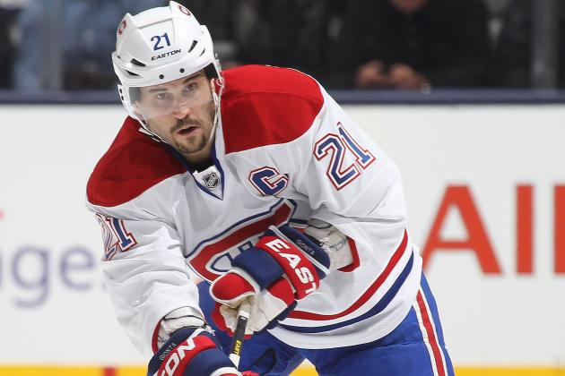 Gionta's Late Goal Leads Habs Past Lightning